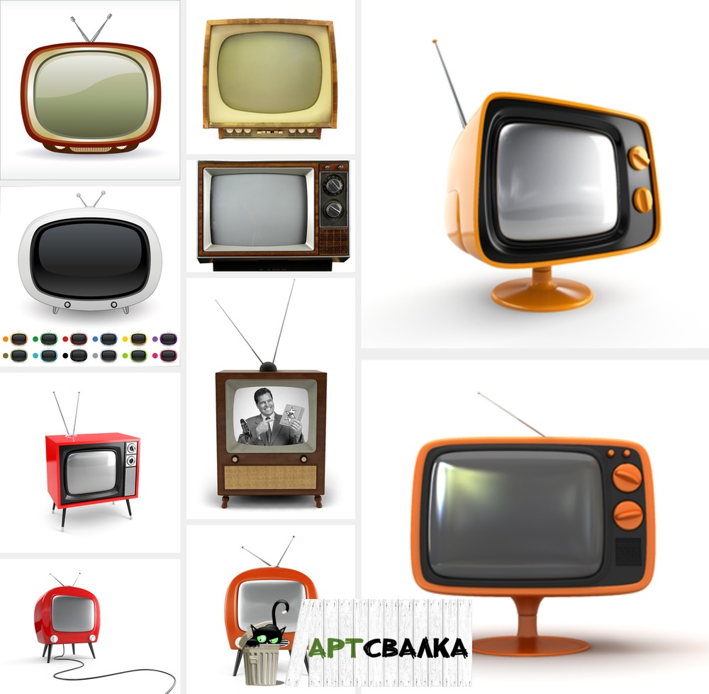 Старый телевизор фото | Old TV photo